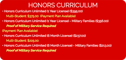 Honors-Pricing