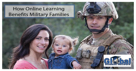 How Online Learning Benefits Military Families