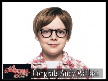 """INTERNATIONAL VIRTUAL LEARNING ACADEMY STUDENT STARS IN """"A CHRISTMAS STORY LIVE!"""" ON FOX"""