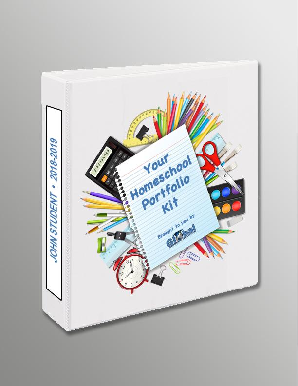 DIY Homeschool Portfolio Kit –  FREE to GSN Homeschool Families!