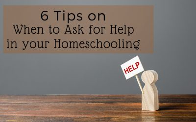 Six Tips on When to Ask for Help in Your Homeschooling