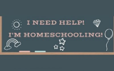 I Need Help: I'm Homeschooling!
