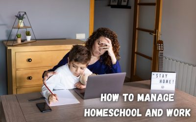 How to Manage Homeschool and Work