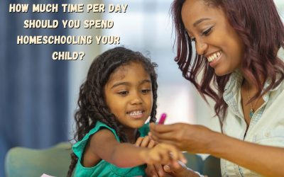 How Much Time Per Day Should You Spend Homeschooling Your Child?