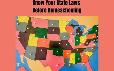 Know Your State Laws Before Homeschooling