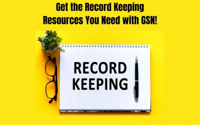 Get the Record Keeping Resources You Need with GSN!